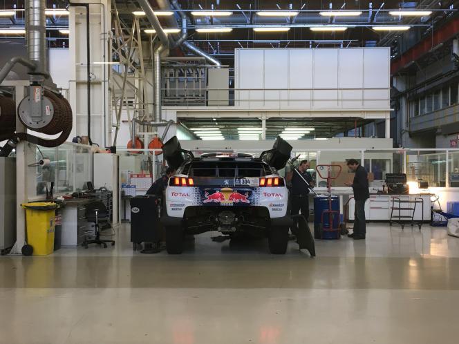 Une des quatre 3008 DKR engagées par Peugeot dans le Dakar 2017 (2-14 janvier).