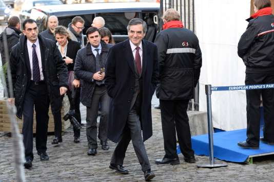 Francois Fillon, le 15 décembre à Bruxelles.