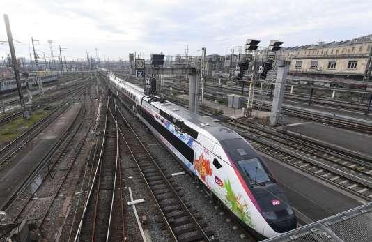 L'Oceane, le nouveau TGV reliant Paris à Bordeaux, le 11 décembre.