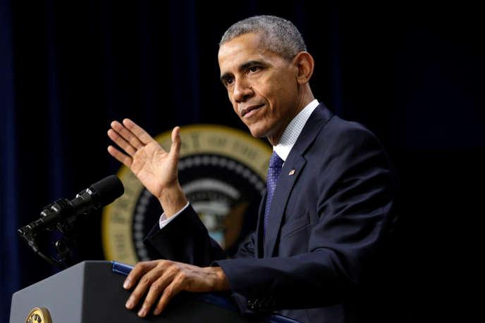 Le président américain, Barack Obama, à la Maison Blanche, le 14 décembre.
