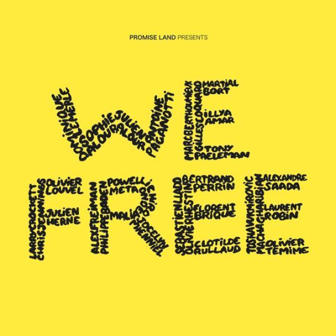 Pochette de l'album« We Free», par l'ensemble We Free.