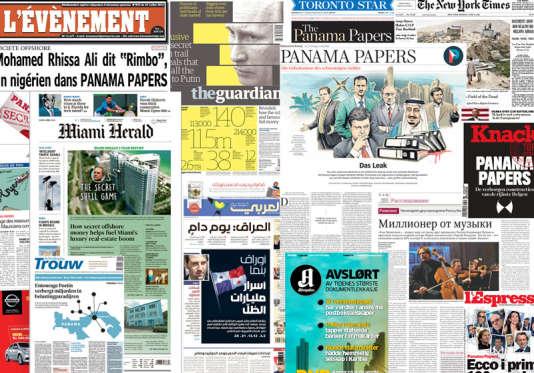 Plus de cent médias ont participé à l'enquête sur les «Panama papers».