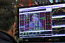 A la bourse de New York, lors de l'annonce des nouveaux taux directeurs de la Réserve fédérale américaine parJanet Yellen, mercredi 14 décembre.