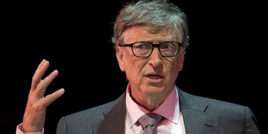 Le fondateur de Microsoft et multimilliardaire Bill Gates se consacre désormais à la philanthropie.