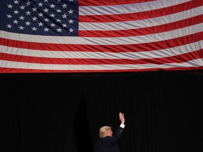 Donald Trump à Hershey (Pennsylvanie), le 15 décembre.