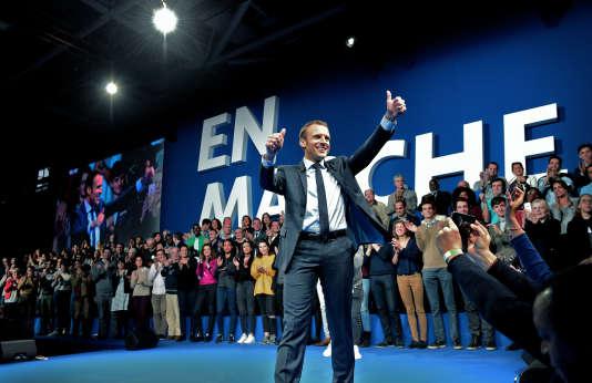 L'ancien ministre de l'économie est candidat à l'élection présidentielle après avoir fondé son parti, En Marche !.
