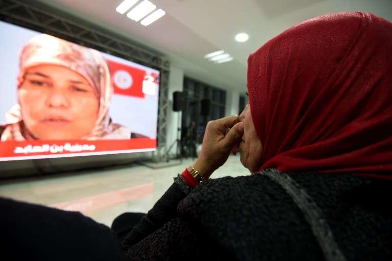 Une des auditions publiques de l'Instance vérité et dignité en Tunisie, le16décembre.