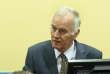 Ratko Mladic lors de sa comparution devant le Tribunal pénal international de La Haye le 16 mai 2012.