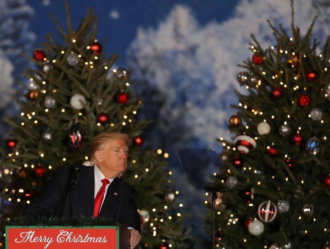 Donald Trump à Orlando (Floride), le 16 décembre.