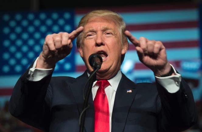 Donald Trump, le 15 décembre, à Hershey (Pennsylvanie).