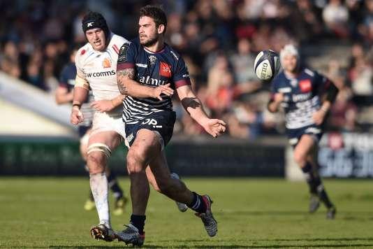 Bordeaux-Bègles s'est incliné samedi 17 décembre en Coupe d'Europe de rugby face à Exeter.