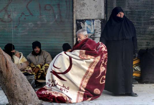 A Alep, en Syrie, le 15 décembre.