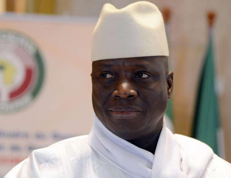 Yahya Jammeh en 2014.