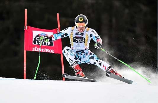 Marcel Hirscher à Alta Badia, en Italie, le 18 décembre.
