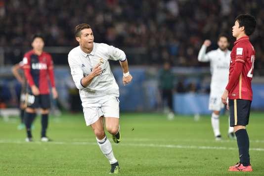 Cristiano Ronaldo a offert la victoire à son équipe face aux Japonais de Kashima Antlers, dimanche 18 décembrelors du Mondial des clubs à Yokohoma.