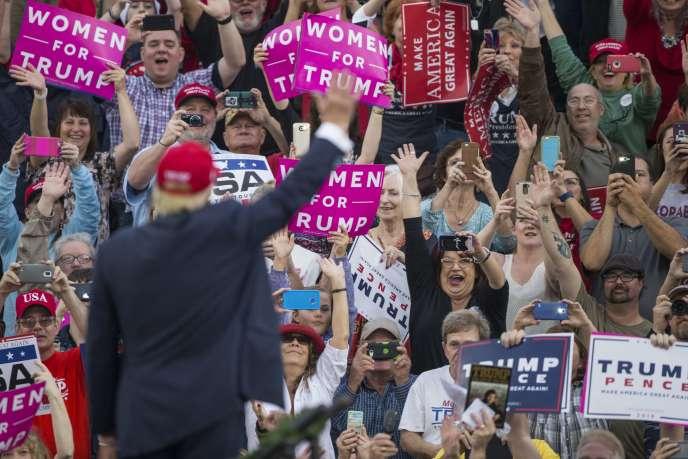 Donald Trump, le 17 décembre à Mobile, en Alabama.