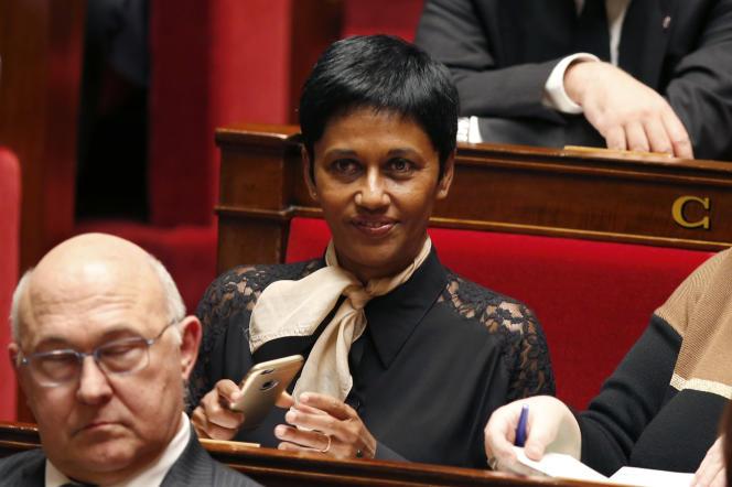 La ministre des outre-mer, Ericka Bareigts, en février 2016.