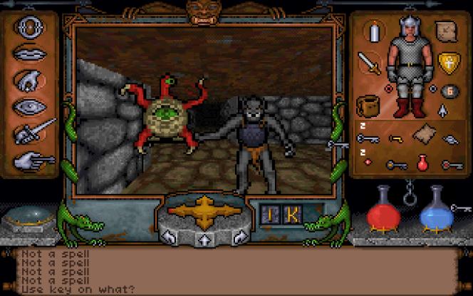 «Ultima Underworld», avec« Wolfenstein 3D» sorti quelques semaines plus tard, a été le pionnier des jeux en 3D texturée.