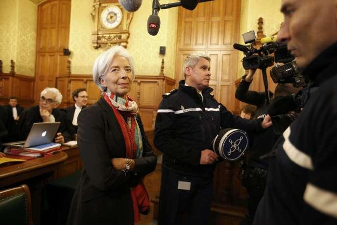 «Nombreux sont ceux à déplorer cette décision qui symbolise l'existence d'une justice à deux vitesses» (Photo: Christine Lagarde, en décembre 2016).