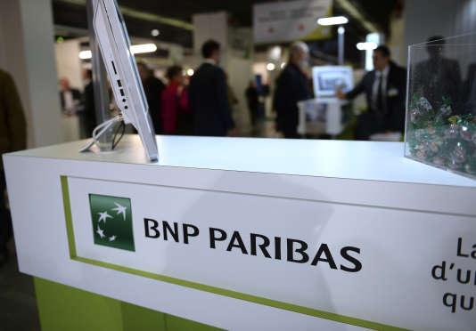 Au siège de la banque BNP Paribas, à Paris, en novembre.