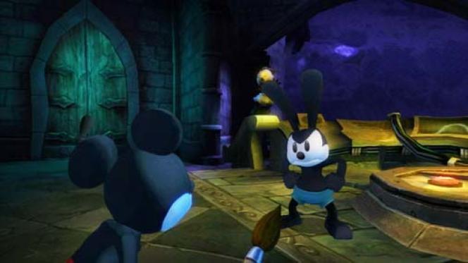 Dans «Epic Mickey», la célèbre souris se retrouve confrontée àOswald, mascotte oubliée (et revancharde) de l'univers Disney.