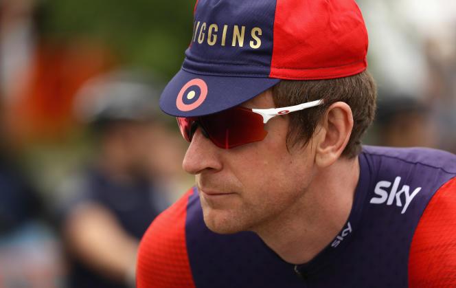 Bradley Wiggins lors du Tour de Californie, en mai 2016.