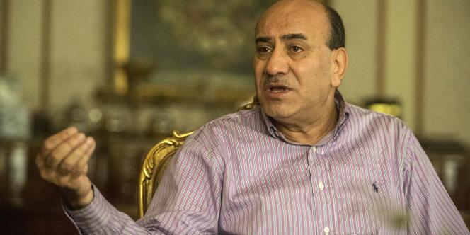 Le juge Hisham Geneina, ancien responsable de l'Autorité centrale d'audit d'Egypte chargée de la lutte anticorruption, le 23 juin 2016.