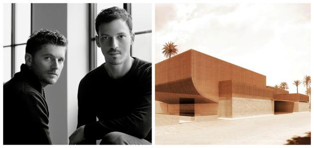 Le duo de Studio KO –Karl Fournier et Olivier Marty–s'est imposé à l'étranger. Après avoir rénové le Château Marmont à Los Angeles, ils termineront en 2017 le Musée Yves Saint Laurent, à Marrakech.
