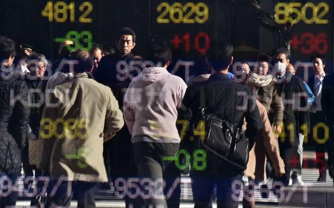 Depuis l'élection de Donald Trump, le 8novembre, le yen s'est en effet déprécié de plus de 10% face au dollar.