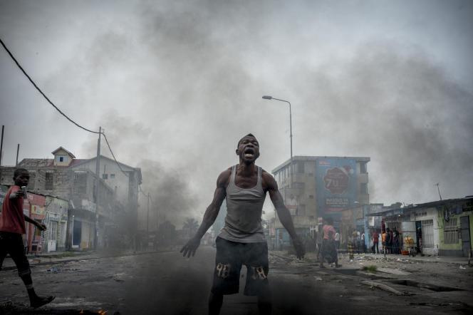 Le quartier de Lemba à Kinshasa, au premier jour après la fin officielle du second mandat de Joseph Kabila le 20 décembre 2016.