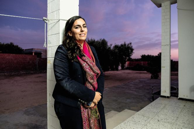 Sarah Toumi développe des projets associatifs autour de Bir Salah, le village de son grand-père, dans l'est de la Tunisie.