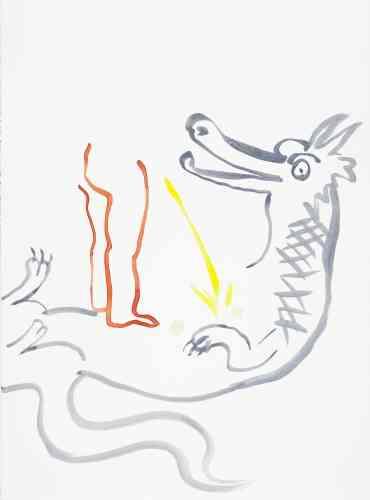 « Le Dragon Lucky colors: or, argent, blanc grisâtre, rouge ». J'œuvre le réel et porte le beau linge de ma seule saison. Coûte que coûte j'avale le nonpareil j'harmonise la casse et Cie tout le monde le sait ma morsure soude.
