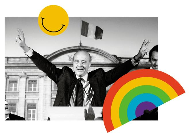 «L'identité heureuse»promise par Alain Juppé s'est retournée contre lui.