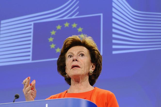 L'ancienne commissaire européenne Neelie Kroes a été directrice d'une société offshore aux Bahamas