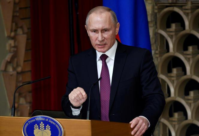 Le président russe Vladimir Poutine a ordonné le renforcement en 2017 de la force de frappe nucléaire russe.