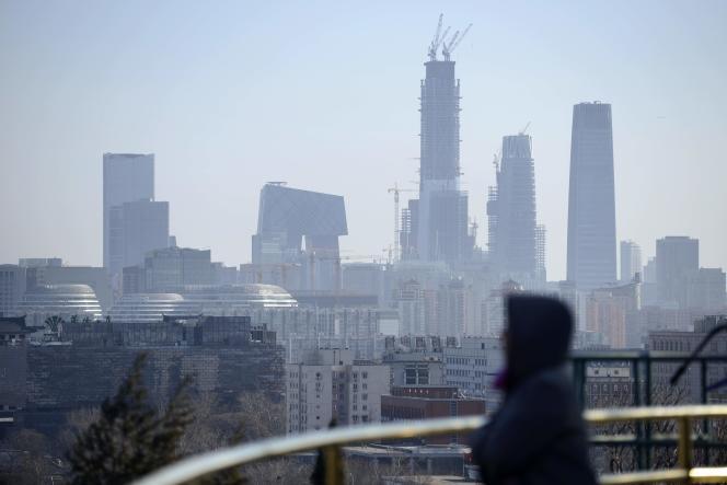 Des immeubles à Pékin, le 22 décembre.