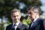 Alain Juppé, Nicolas Sarkozy et François Fillon, à La Baule (Loire-Atlantique), le 5 septembre 2015.