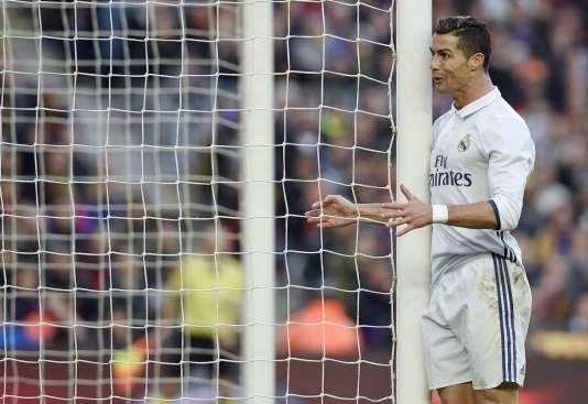 Cristiano Ronaldo, le 3 décembre 2016, jour de clasico face au FC Barcelone, et jour des révélations des «Football Leaks» à son sujet.