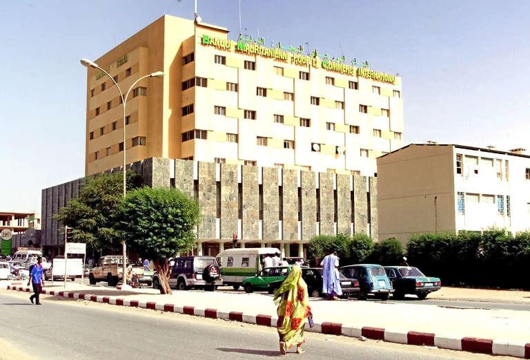 Vue de Nouakchott en 2003.