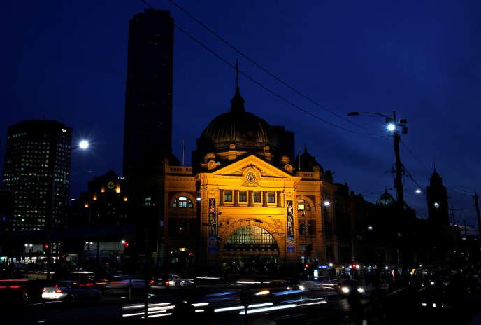 Selon la police australienne, la gare de Melbourne était l'une des cibles du complot terroriste déjoué.