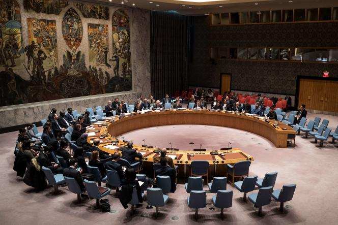 «La Russie et, plus subtilement, la Chine se montrent toujours plus déterminées à s'imposer, y compris par la force, face à un Occident hésitant et divisé» (Photo: réunion du Conseil de sécurité au siège de l'ONU à New York, le 21 décembre).