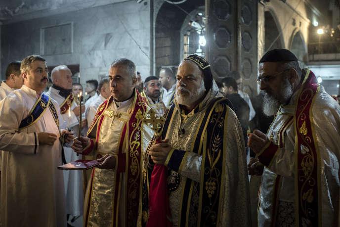 De nombreux chrétiens se sont retrouvés dans l'église de Bartella, samedi 24 décembre, pour célébrer Noël.