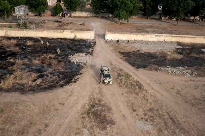 Un véhicule militaire nigérian à Bama, le 8 décembre.