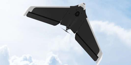 Disco, l'aile volante de Parrot utilisée dans le cadre des applications agricoles.
