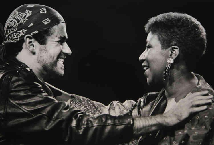 Durant son « Faith World Tour» de 1988 aux Etats-Unis, le chanteur fait venir Aretha Franklin pour un duo lors de son étape dans le Michigan.