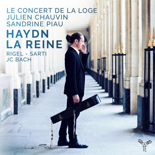 Pochette de «Haydn La Reine», du Concert de la Loge, Julien Chauvin et Sandrine Piau.