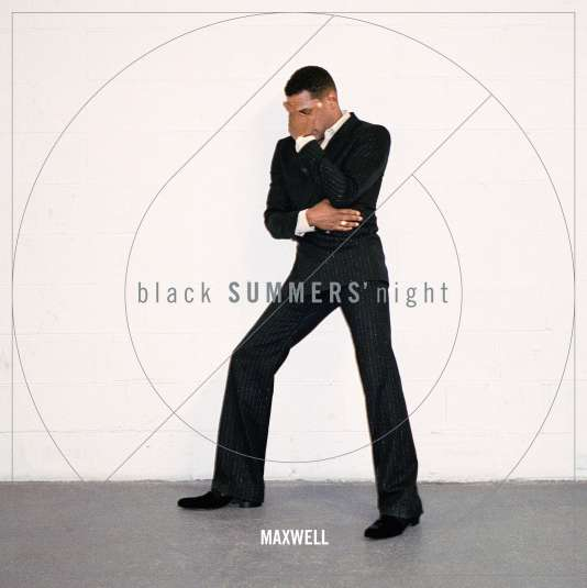 Pochette de « black SUMMERS' night », de Maxwell.