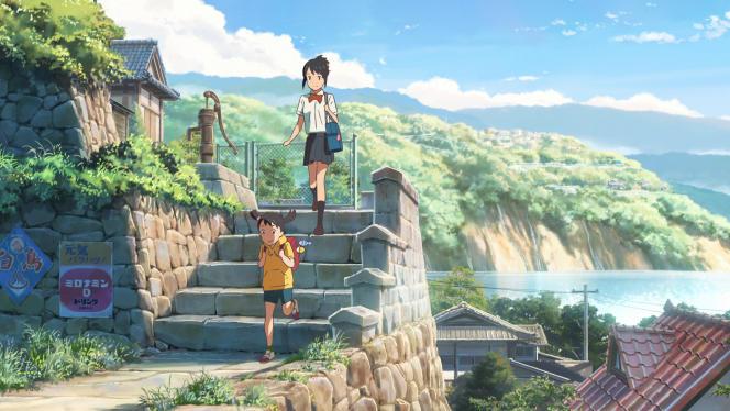 Extrait de« Your Name», de Makoto Shinkai.