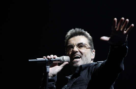 George Michael en 2008.