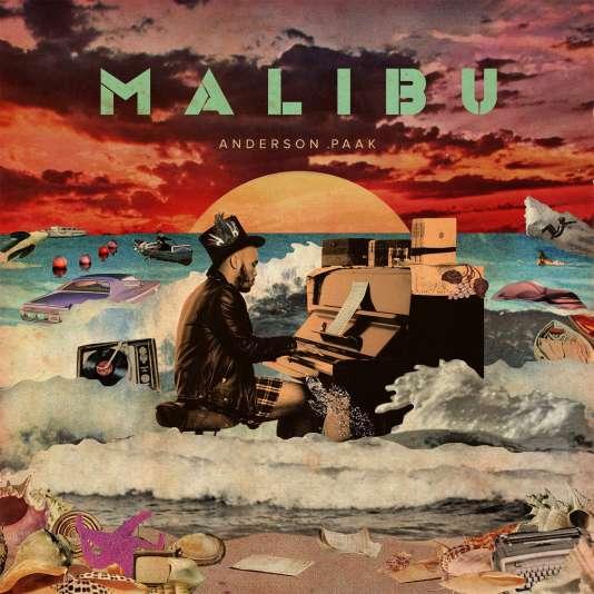 Pochette de «Malibu», d'Anderson .Paak.